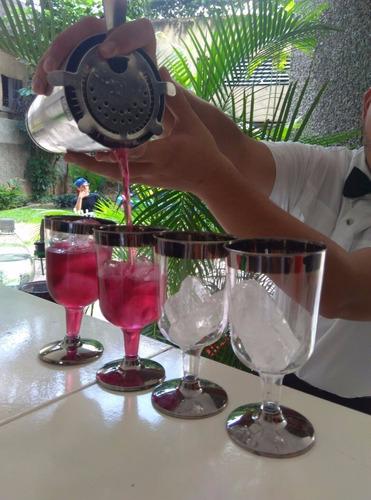 Barra Movil Cocteles Bartender Flair Eventos Bodas