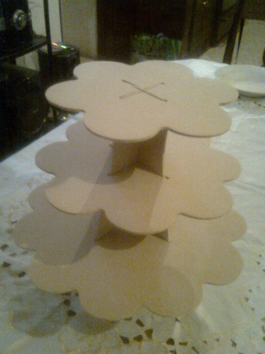 Base armable para cake ideas and designs - Bases para cupcakes ...