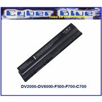 Bateria Para Hp Compaq Dv2000 Dv6000 C700 F700 F500