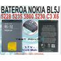 Bateria Bl-5j Nokia 5230 5235 5228 5800 X1 N900 X6 C3 Bl5j