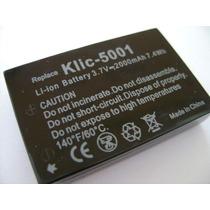 Bateria Klic-5001 Para Cámaras Kodak Easyshare Dx6490 Dx7440