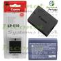 Bateria Canon Lp-e10 Para Camaras Canon Dslr Rebel T3 Inco
