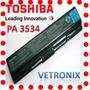 Bateria Toshiba Pa3534 Pa3634 Pa3536 Pa3465 Pa3536 Pa3399