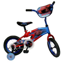Bicicleta Spiderman Rin 12. Original Marvel.
