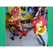 Bicicleta Oso Rin 16 Con Cesta Y Maleta
