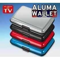 Aluma Wallet Cartera Billetera Resistente Impermeable 100%