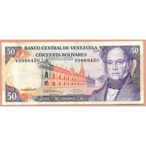 Billete 50 Bolivares Diciembre-8-1992 V7 Vf