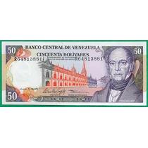 Billete De 50 Bolívares Junio 1995 R8 Sin Circular