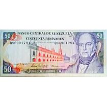 1995 5 De Junio Q Billete De 50 Bolívares