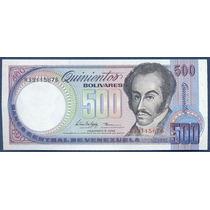 Billete De 500 Bolívares Febrero 1998 R8 Sin Circular