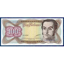 Billete De 100 Bolívares De Octubre 13 De 1998 Serial L8
