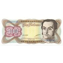 Billete 100 Bolívares Oct De 1998 Serial Bajo G8 5 Dígitos