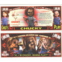 Cl27 Billete Decorativo Chucky