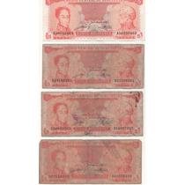 Billetes Antiguos Venezolanos Combo 2 - Fuera De Circulacion
