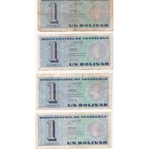 Billetes Antiguos Venezolanos Combo 1 - Fuera De Circulacion