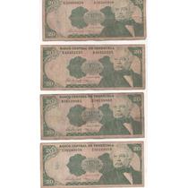 Billetes Antiguos Venezolanos Combo 4 - Fuera De Circulacion