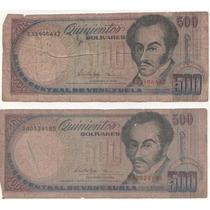 Billetes Antiguos Venezolanos Combo 7 - Fuera De Circulacion