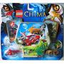 Lego Chima Wakz & Longtooth - Eris & Rawzom