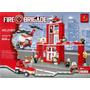Bomberos Brigada De Rescate Tipo Lego. 505 Piezas Para Armar