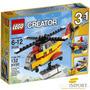 Lego Creator 3 En 1 Helicoptero Avion Barco 132 Pzs 31029