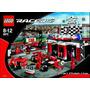 Lego Racers Ferrari F1 Finish Line Modelo 8672 Vintage