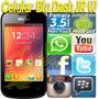 Teléfono Celular Android Blu Dash Jr Dualsim Bbm Pin Whatsap