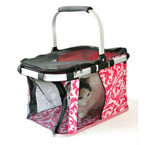 Bolso Tipo Kennel Plegable Transporte Perros Gatos Medianos!