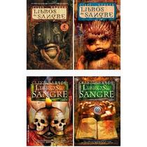 Libros De Sangre 1, 2, 3 Y 4 De Clive Barker + Regalo