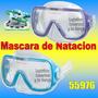 Mascara De Natacion Buceo Intex 55976 Reforzada
