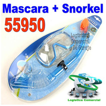Mascara + Snorkel Niños Adulto 55950 Buceo Natacion