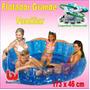 Flotador Inflable Grande Para 4 Personas Bestway 173x46cm