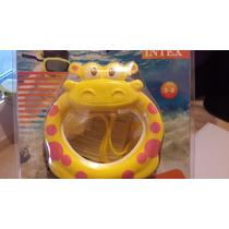 Careta De Natación Para Niños Tipo Hipopotamo Intex #55910