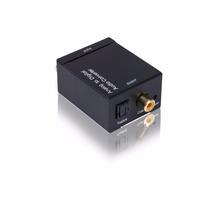 Convertidor De Audio Analogo Rca A Digital Optico