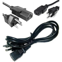 Cable De Corriente Para Pc,cpu,computadora,monitor,ups Inco