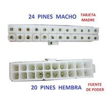 Cable Adaptador De 20 A 24 Pin 20-24 Para Fuente De Poder