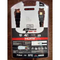 Cable Hdmi 1080 Hd Smhd-220 Psp, Tv, Blue Ray,recep Satelite
