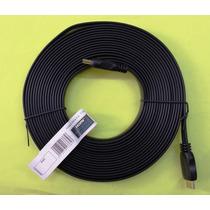 Cable Hdmi Plano 1080p + 3d + K4 (7.5 Metros) (cab-5504-7.5)