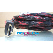 Cable Hdmi - Hdmi Cubierto X Malla + 02 Filtros Largo 05 Mts
