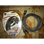 Cable General Electric Rca Audio Y Video Para Tv Dvd 2,4 Mts