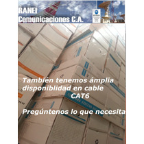 Cable Utp Cat5 E - 4 Pares - Rollo 305 Metros - Cctv - Lan
