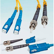 Conectores De Fibra Optica Multimodo Y Monomodo Sc,st,lc,fc