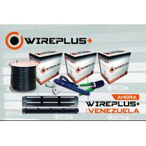 Cable Utp Cat 5e 100mts Wireplus Testeado Cat5e