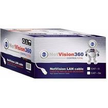Bobina Cable Utp Cat5e 305 Mts Rj45 Netvision360 Cctv/redes