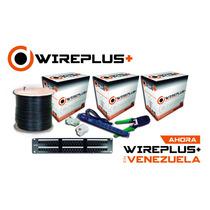 Cable Utp Cat 6 305mts Wireplus Testeado Cat6