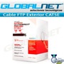 Bobina Cable S-ftp Cat5e Blindado Linkedpro Exterior Uv 305m