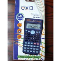 Calculadora Cientifica Exa A240