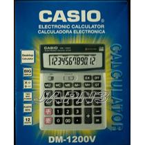 Calculadora Casio De Escritorio #dm-1200v Para Todo Uso