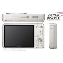 Camara Digital Sony Cyber-shot Dsc-w560 14.1mp 4xzoom Silver