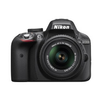 Camara Digital Nikon D3300 24.2 Mp + Lente 18-55mm Nueva