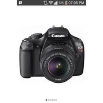 Camara Digital Fotografica Profesional Canon Rebel T3 Nueva